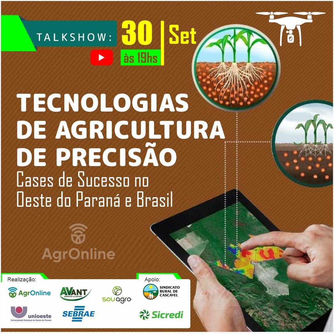TalkShow Agricultura de Precisão
