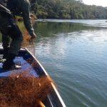 Pesca no Lago de Itaipu